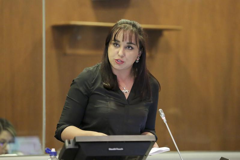 La asambleísta Gabriela Rivadeneira recibe ''protección y resguardo'' del Gobierno mexicano