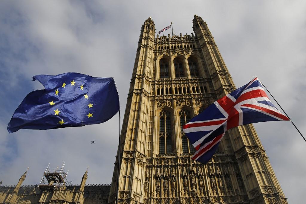 """Johnson celebró un """"excelente nuevo acuerdo"""" y llamó, por su parte, a los diputados de su país a aprobarlo inmediatamente. Foto: AFP"""