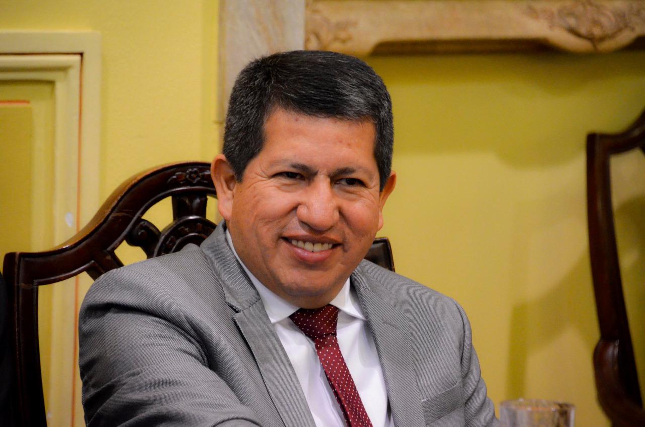 Luis Alberto Sánchez, ministro de Hidrocarburos de Bolivia, es una de las autoridades que renunció a su cargo.