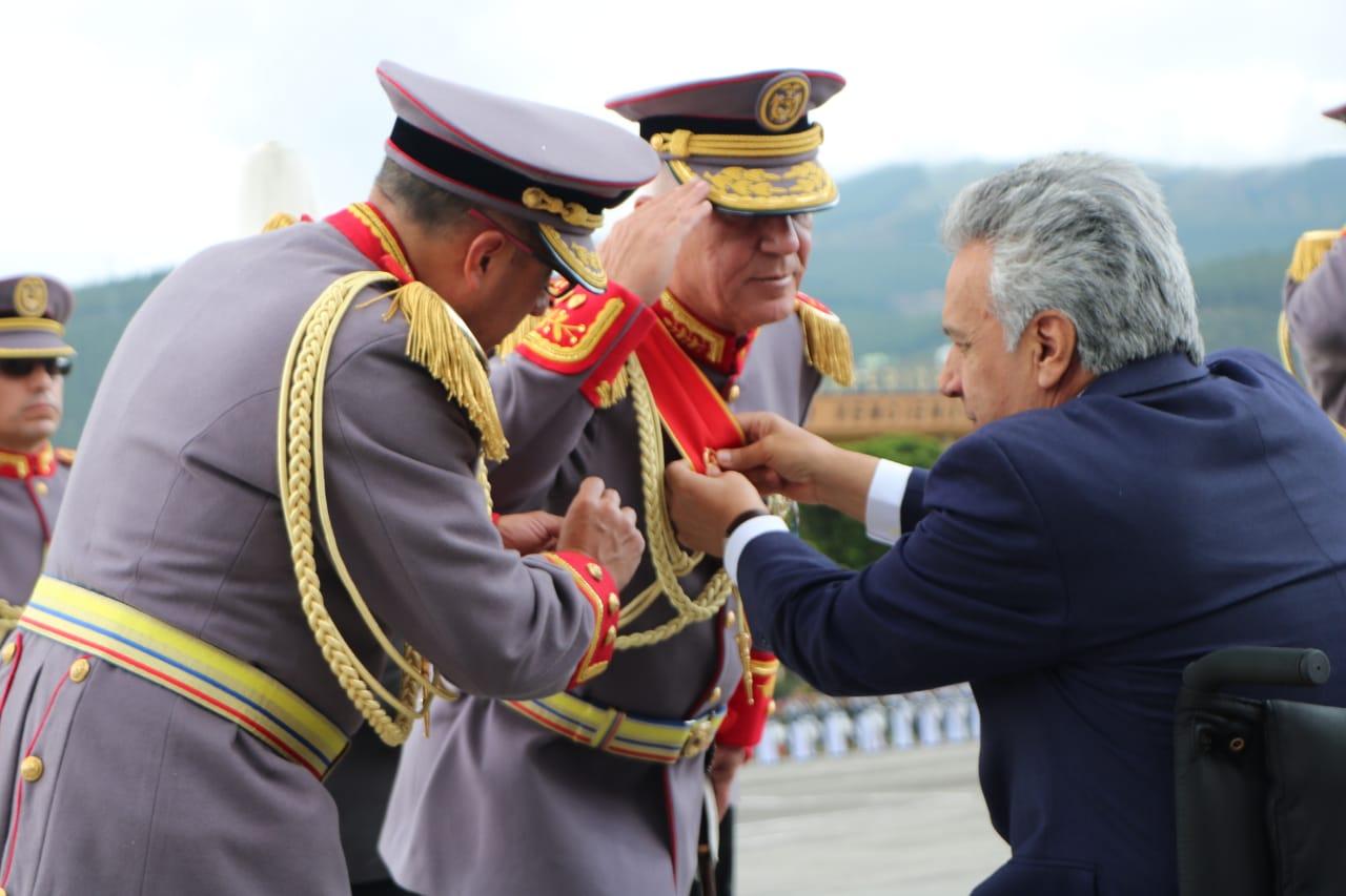 """""""Las Fuerzas Armadas no permitirán que se repitan asonadas que atenten contra la paz del Ecuador"""", dijo Jaramillo"""
