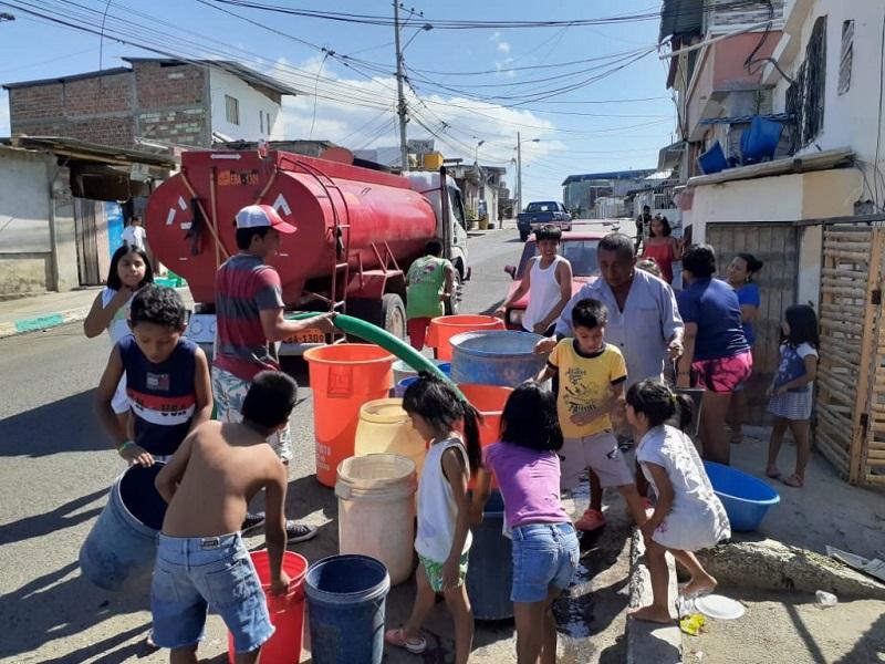 Más de 100.000 habitantes sin agua en Manabí por un repuesto de 7.000 dólares.