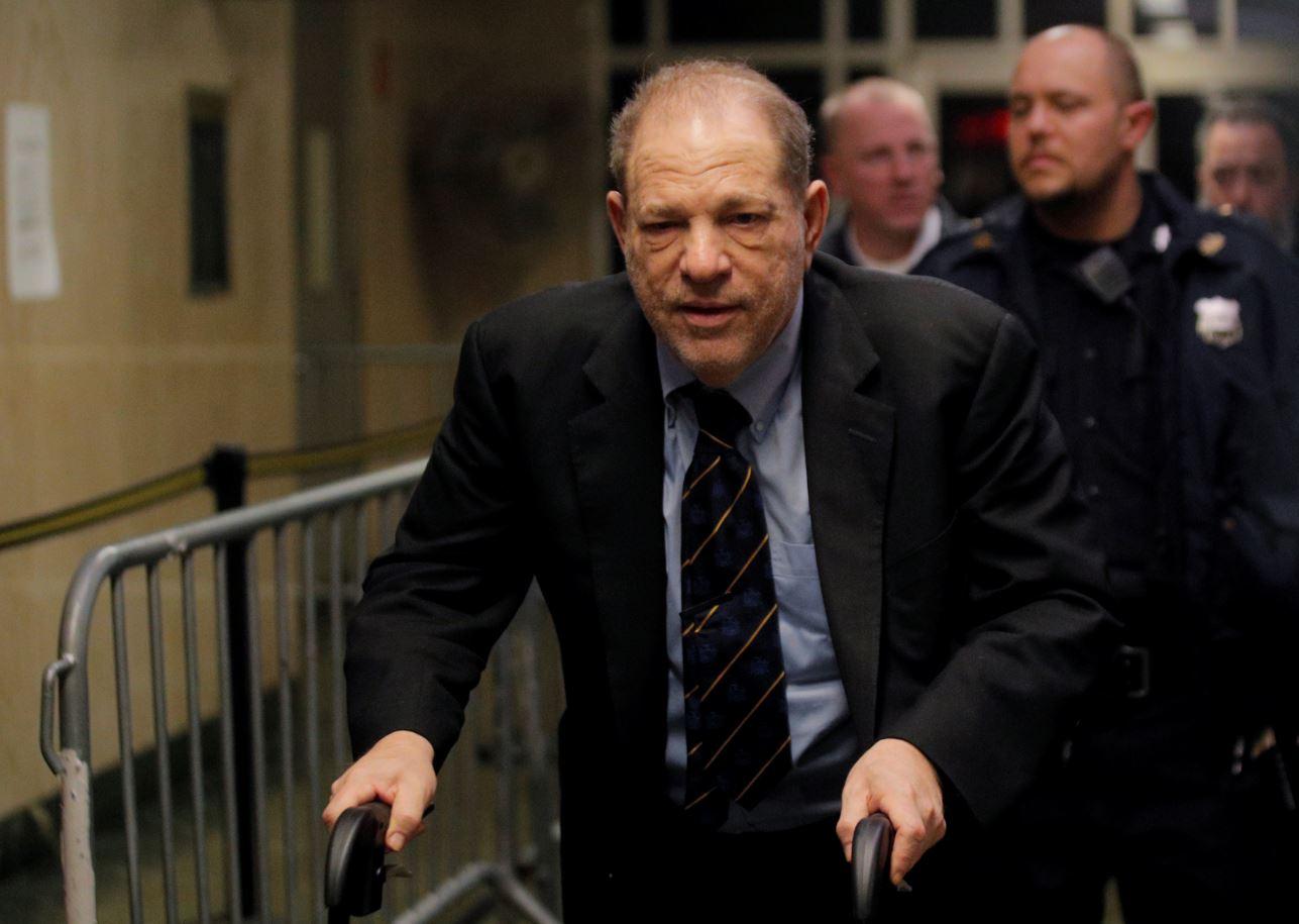 """El productor de cine Harvey Weinstein es descrito como un """"monstruo depredador"""" por la Fiscalía de Nueva York. Foto: Reuters."""
