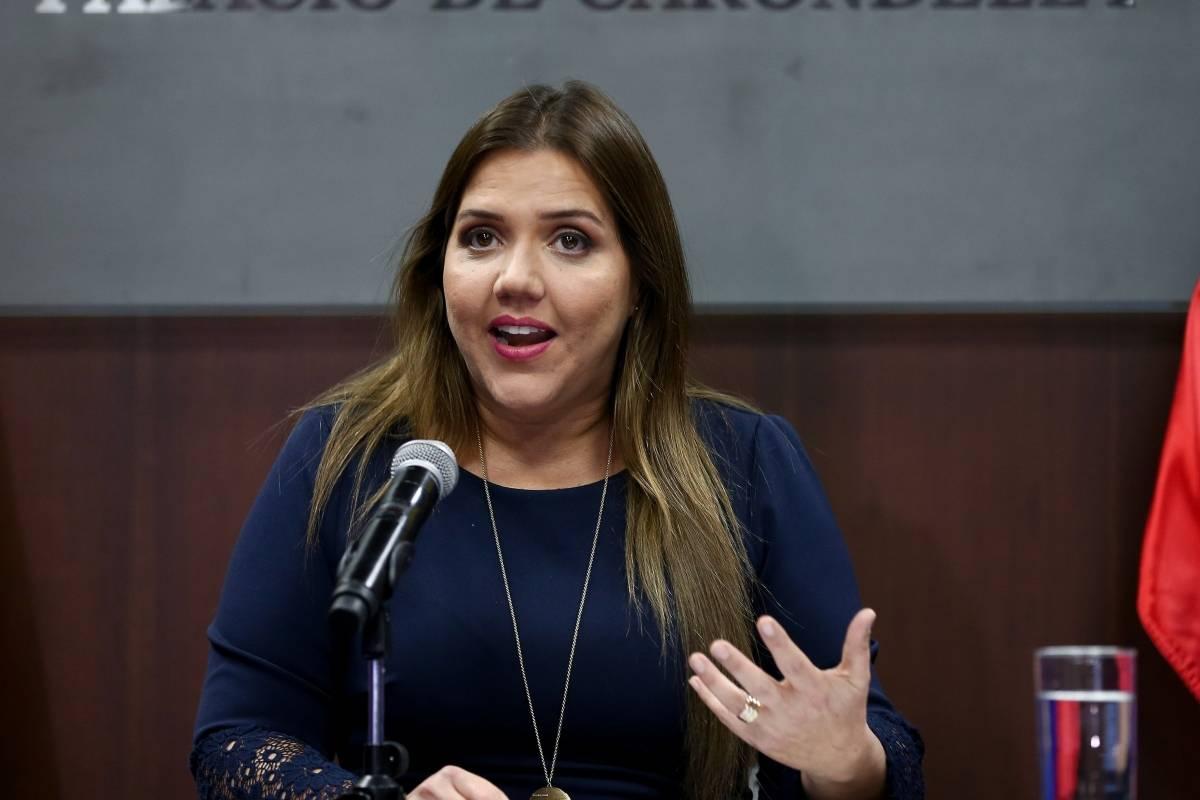María Alejandra Vicuña condenada a 1 año de prisión por concusión