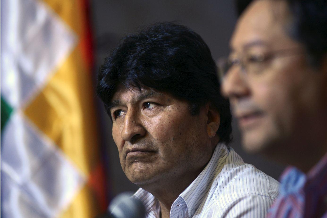 El Movimiento al Socialismo (MAS) cerró filas este jueves en torno a su líder Evo Morales para que pueda ser candidato a diputado o a senador. Foto: Reuters.