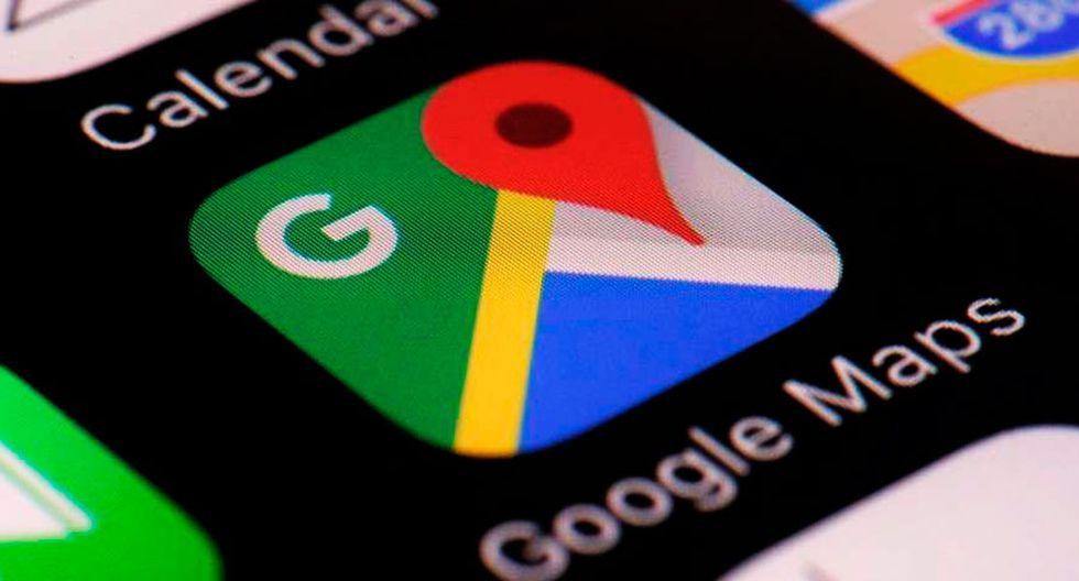 Google Maps tiene más de 1.000 millones de usuarios activos por mes. Foto: AFP.