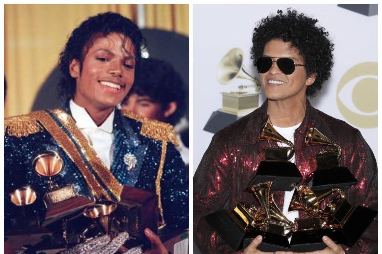 La teoría que afirma que Michael Jackson es padre de Bruno Mars   Vistazo