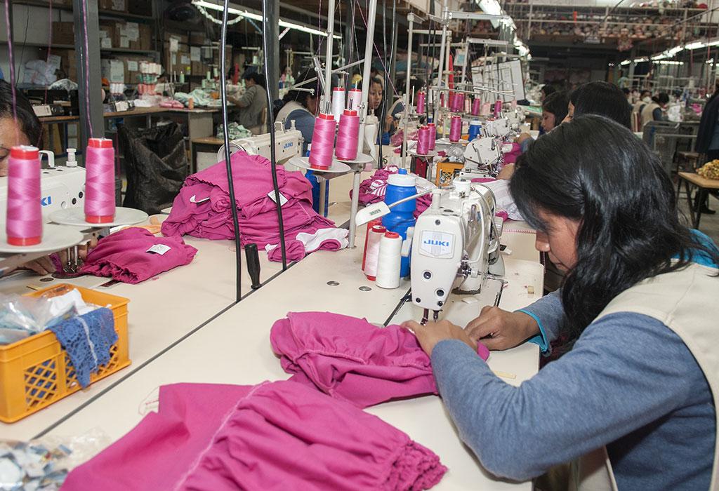 entorno economico industria textil: