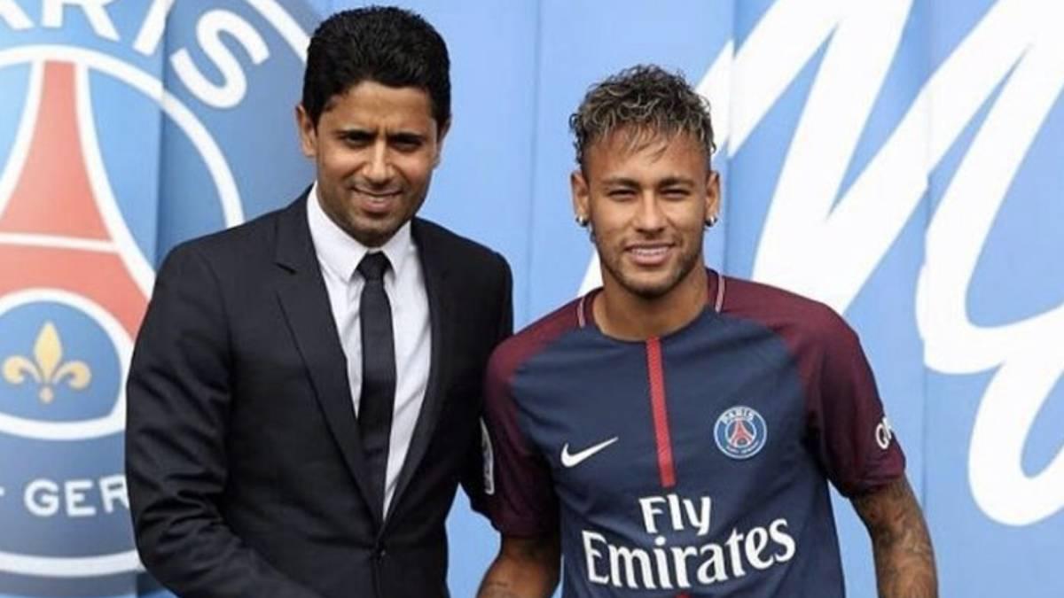 PSG se burla de Barcelona con una foto de Neymar — Twitter