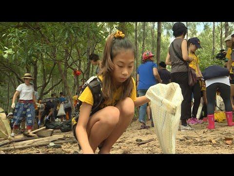 Lilly, 12 años, la Greta Thunberg de Tailandia en guerra contra el plástico | AFP
