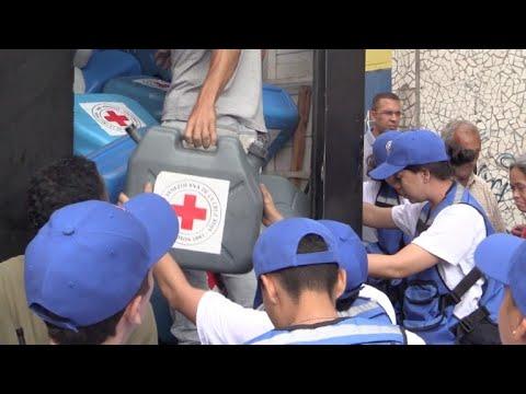 Venezuela comenzó a recibir ayuda humanitaria de Cruz Roja