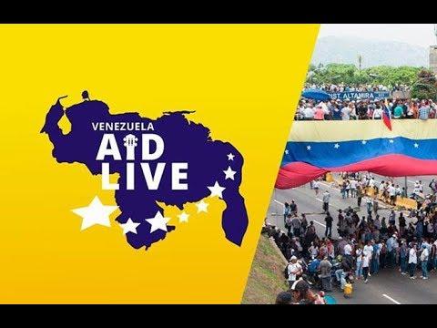 'Venezuela Aid Live', sigue el concierto en vivo