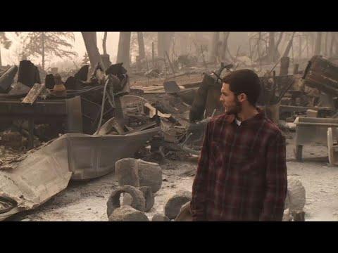 Búsqueda incansable de desaparecidos en el fuego de California