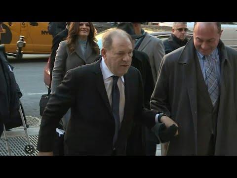 """La fiscalía presenta a Harvey Weinstein como un """"experto"""" depredador sexual   AFP"""