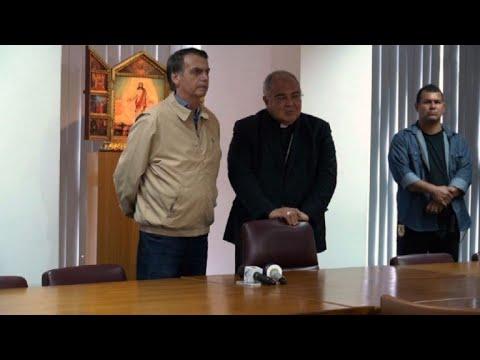 Bolsonaro se compromete con iglesia católica brasileña