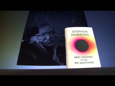 """Libro póstumo de Stephen Hawking responde """"grandes preguntas"""""""