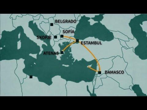 Las rutas migratorias hacia Europa