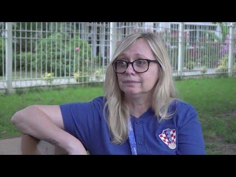El Mundial de Iva Olivari, la 'jefa' de Croacia
