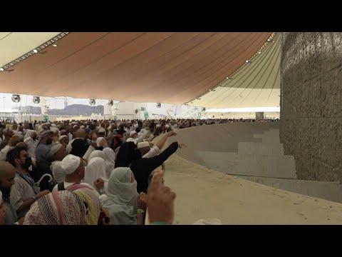 Peregrinos lapidan simbólicamente a Satán en La Meca | AFP