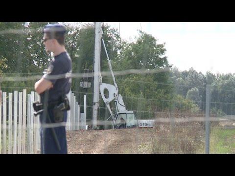 Hungría sigue blindando sus fronteras
