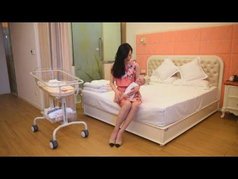 Tras parto, descanso 5 estrellas para madres chinas