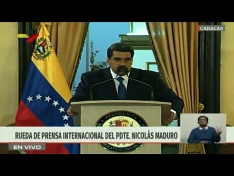 """Maduro asegura que impedirá el """"show"""" de la ayuda humanitaria"""