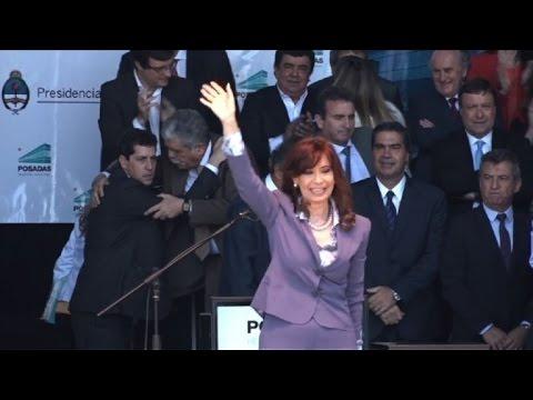Cristina Kirschner garantiza gobernabilidad en transición