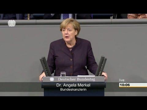 Merkel aboga por acuerdo vinculante en la COP21