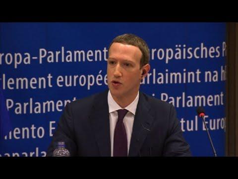 Fundador de Facebook declara en Eurocámara por escándalo