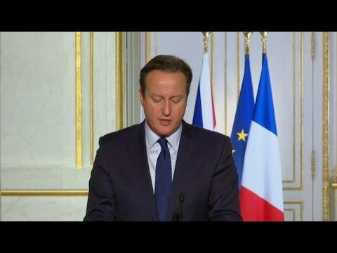 Cameron pide al parlamento atacar a EI en Siria