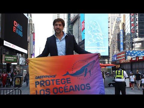 Actor español Bardem exigió en la ONU un tratado global de los océanos | AFP