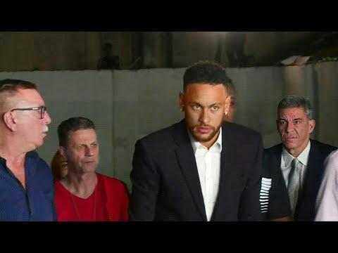 Neymar interrogado más de cinco horas por denuncia de violación | AFP