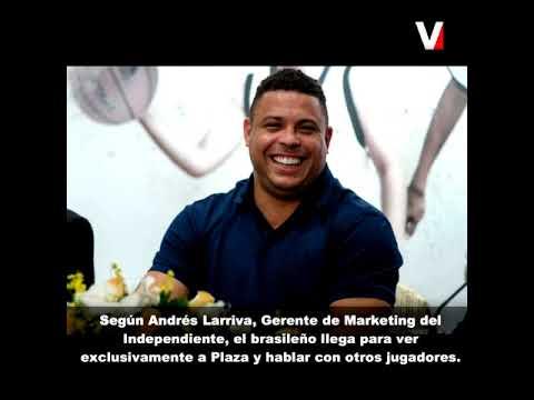 Ronaldo Nazário de Lima está en Quito