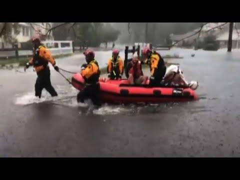 Inundaciones amenazan costa este de EEUU tras paso de Florence