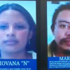 La FGJ difundió los rostros de Mario Alberto 'N' y Giovana 'N', que sería quien sustrajo a la niña a la salida del colegio.