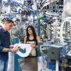 Para la fabricación de sus prendas Ingesa cuenta con una máquina circular de ocho sistemas. Foto: Cortesía.