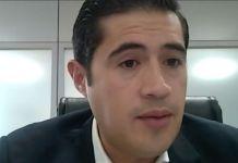 Ministro de Economía y Finanzas, Richard Martínez.