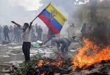 En los disturbios murieron una decena de personas y 1.500 resultaron heridas. Foto: archivo