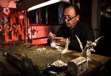 Chordeleg se caracteriza por su delicada orfebrería, la filigrana es una muestra de este arte..