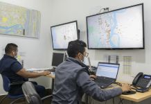 El control de la carga en tiempo real es uno de los servicios que ofrecen las compañías a sus clientes. Foto Vistazo.