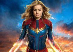 Para interpretar a la superheroína con un traje rojo y azul, la actriz se sometió a meses de entrenamiento.