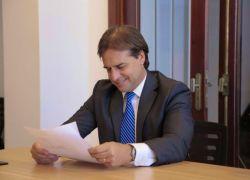 El gobierno del presidente electo Luis Lacalle Pou se instalará el domingo. Foto: @LuisLacallePou