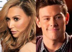 Naya Rivera y Cory Monteith, actores de la serie musical 'Glee'.