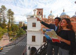 """""""Nuestra casa será la tuya"""" es el lema de la campaña de reactivación hotelera de Cuenca. Foto Cortesía"""