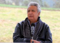 Lenín Moreno felicitó este martes al candidato boliviano Luis Arce.