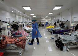 Una casa de salud en Guayaquil se encuentra al 100% de su capacidad. Foto: archivo