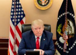 Trump dijo que continuará con sus estrategias legales para revertir el resultado. Foto: EFE