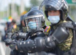 Este jueves fuerzas de seguridad lograron frustrar un intento de fuga de catorce presos. Foto: API