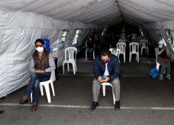 PICHINCHA.- Ecuador espera retomar la normalidad de contagio tras pico de enero y febrero. Foto: EFE