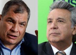 """Lenín Moreno Garcés solicitó su """"desafiliación/ renuncia"""" de PAIS, movimiento con el que llegó a la Presidencia en 2017."""