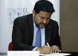 Se trata del quinto ministro de Gobierno desde mayo de 2017, cuando asumió Moreno. Foto: API
